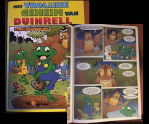 Stripboek voor Duinrell