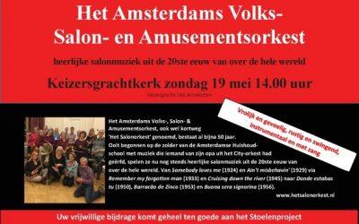 Uitnodiging gratis concert van het Amsterdams Salonorkest!