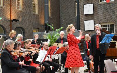 'Aan de Amsterdamse grachten' in het Sarphatihuis door het Amsterdams Salonorkest