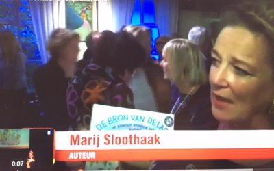 Filmpje boekpresentatie kinderboek 'bron van de lach' op Telegraaf TV.