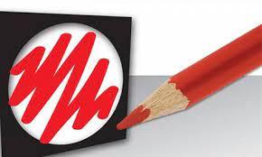 Ik heb het rode potlood niet meegenomen